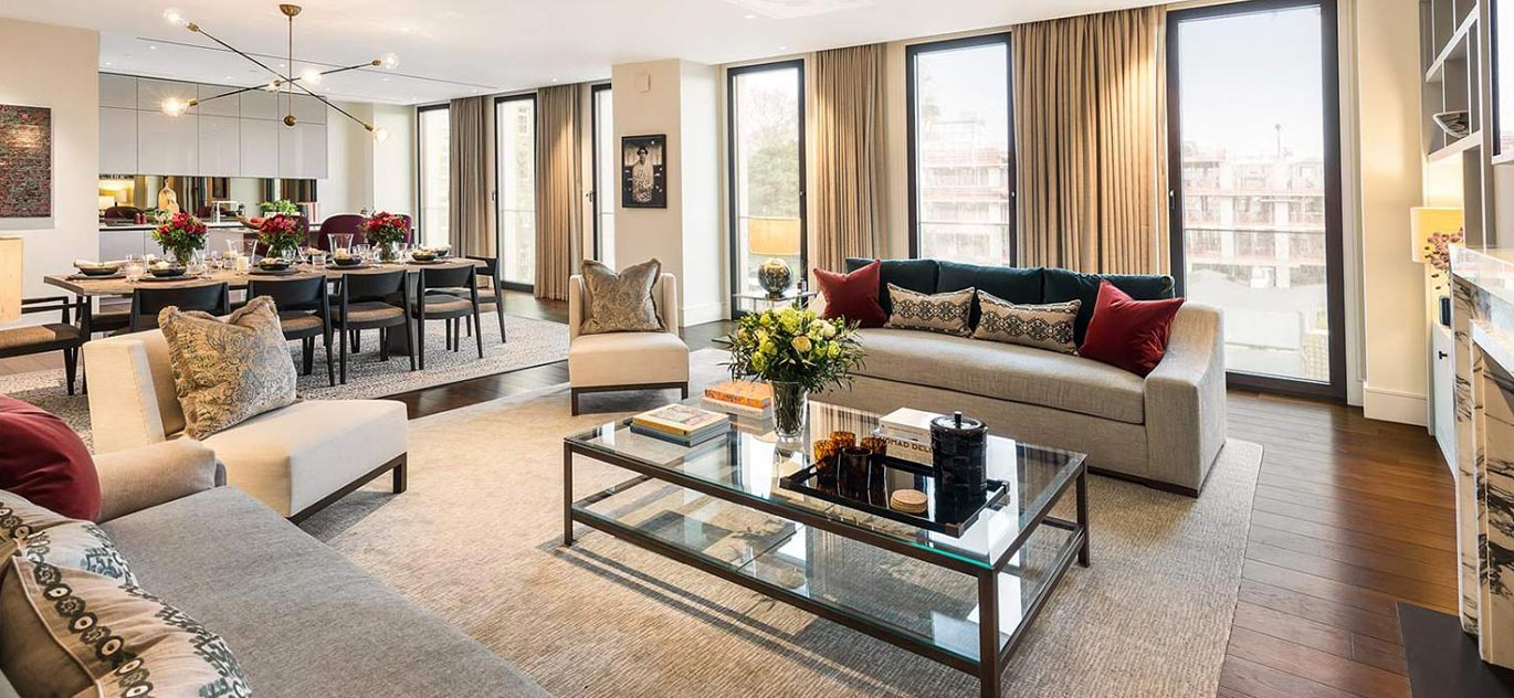 London - Angleterre - Appartement, 5 pièces, 3 chambres - Slideshow Picture 1