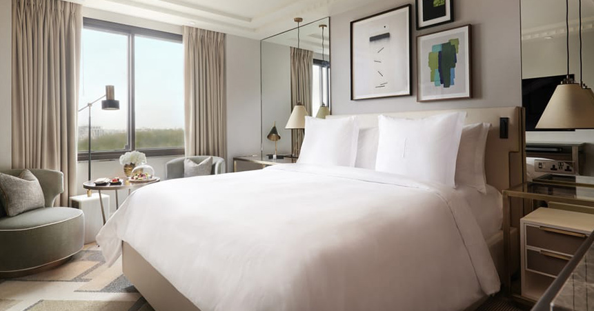 Rent a luxury apartment with a view at the Four Seasons in London