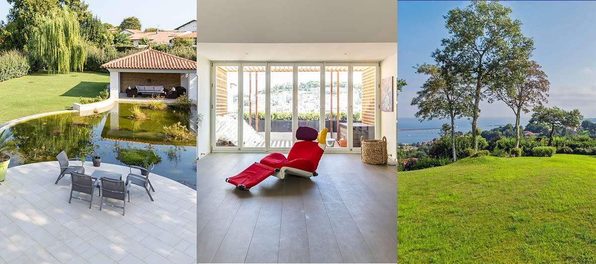 Terrasse, balcon et jardin